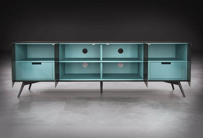 Christopher Media Cabinet Asphalt Matte
