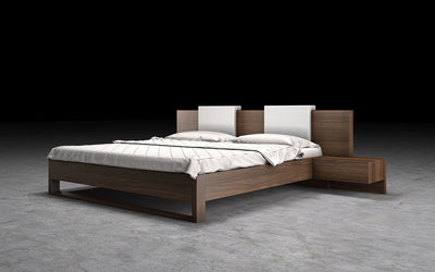 Monroe Bed Walnut