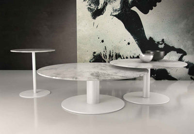 Bleecker Coffee Table White Marble