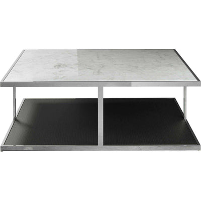 Ann Coffee Table White Marble/Wenge
