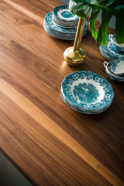 Genoa Dining Table Canaletto Walnut/Deep Ocean