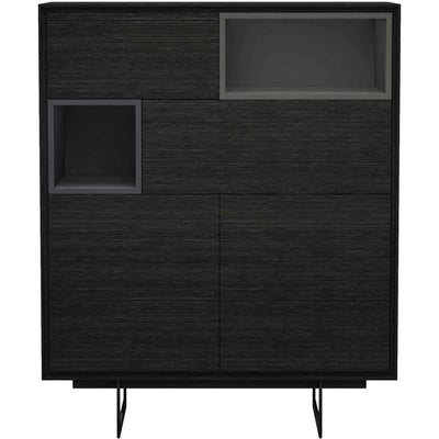 Baxter Highboard Gray Oak