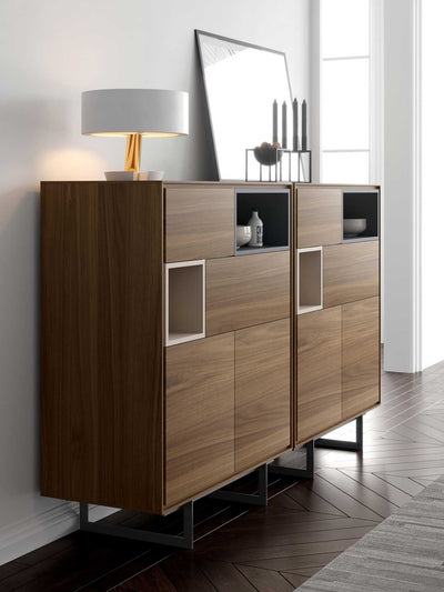 Baxter Highboard Walnut
