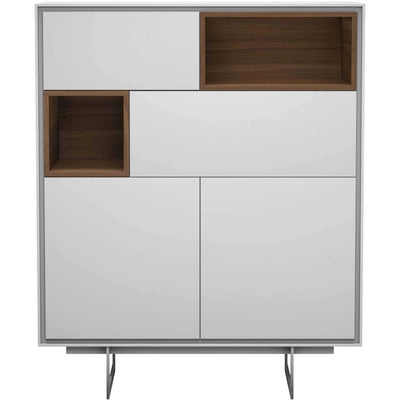 Baxter Highboard White Matte