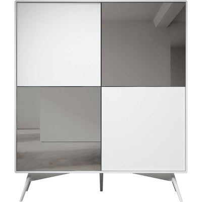 Christopher Highboard White Matte