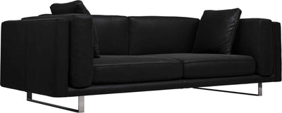 Fulton Sofa Black Brown