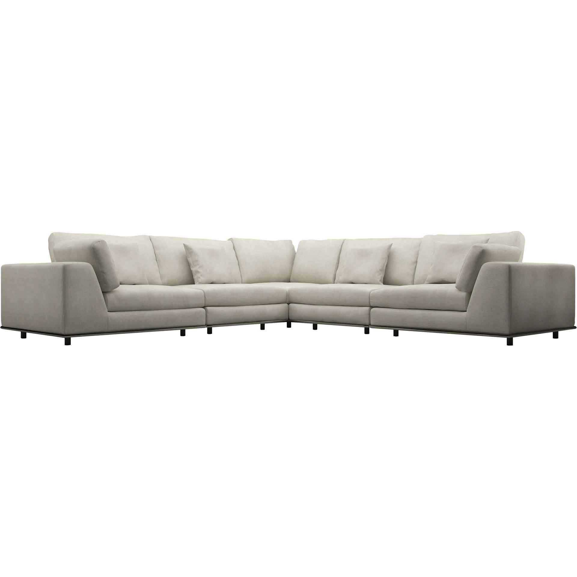 Perry Corner Sofa Moonbeam