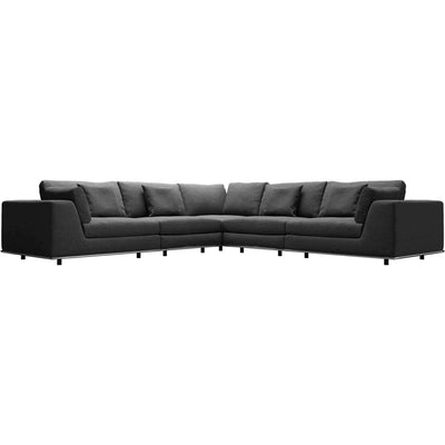 Perry Corner Sofa Shadow Gray