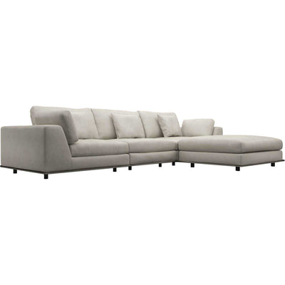 Perry Sectional Sofa Moonbeam
