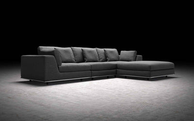 Perry Modular Sofa Shadow Gray