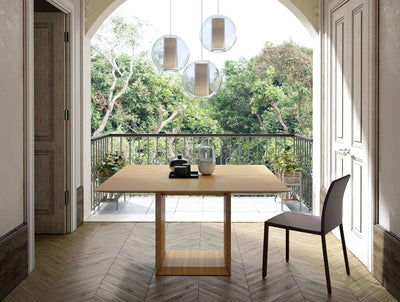 Greenwich Square Dining Table Natural Oak