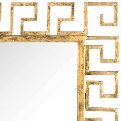 Calvin Greek Key Mirror