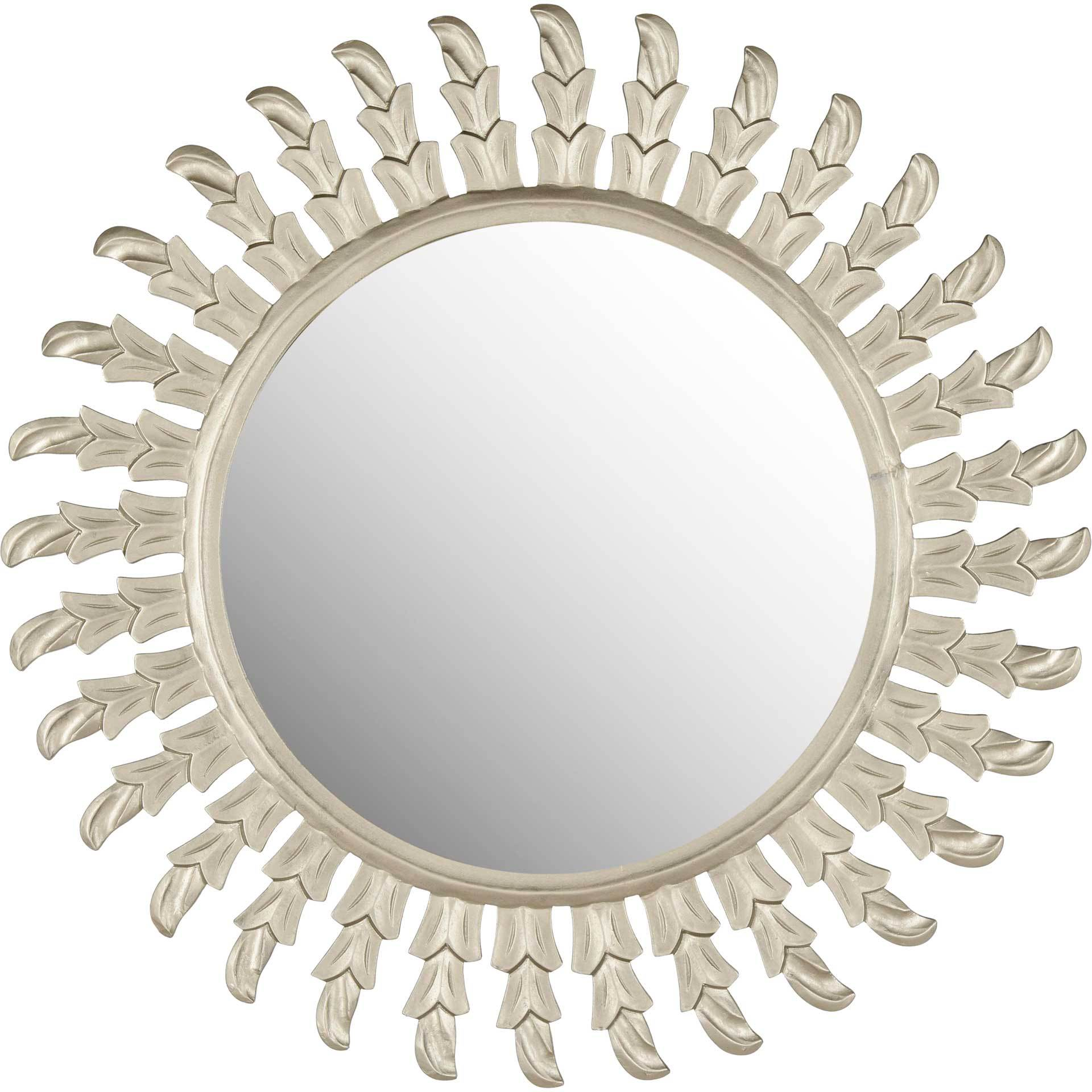 Ingrid Sun Mirror Pewter