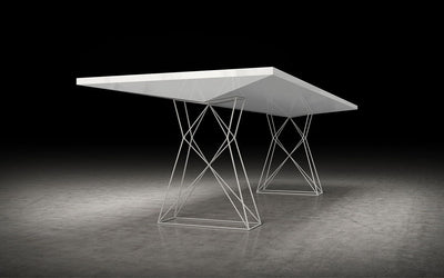 Curzon Dining Table White Lacquer