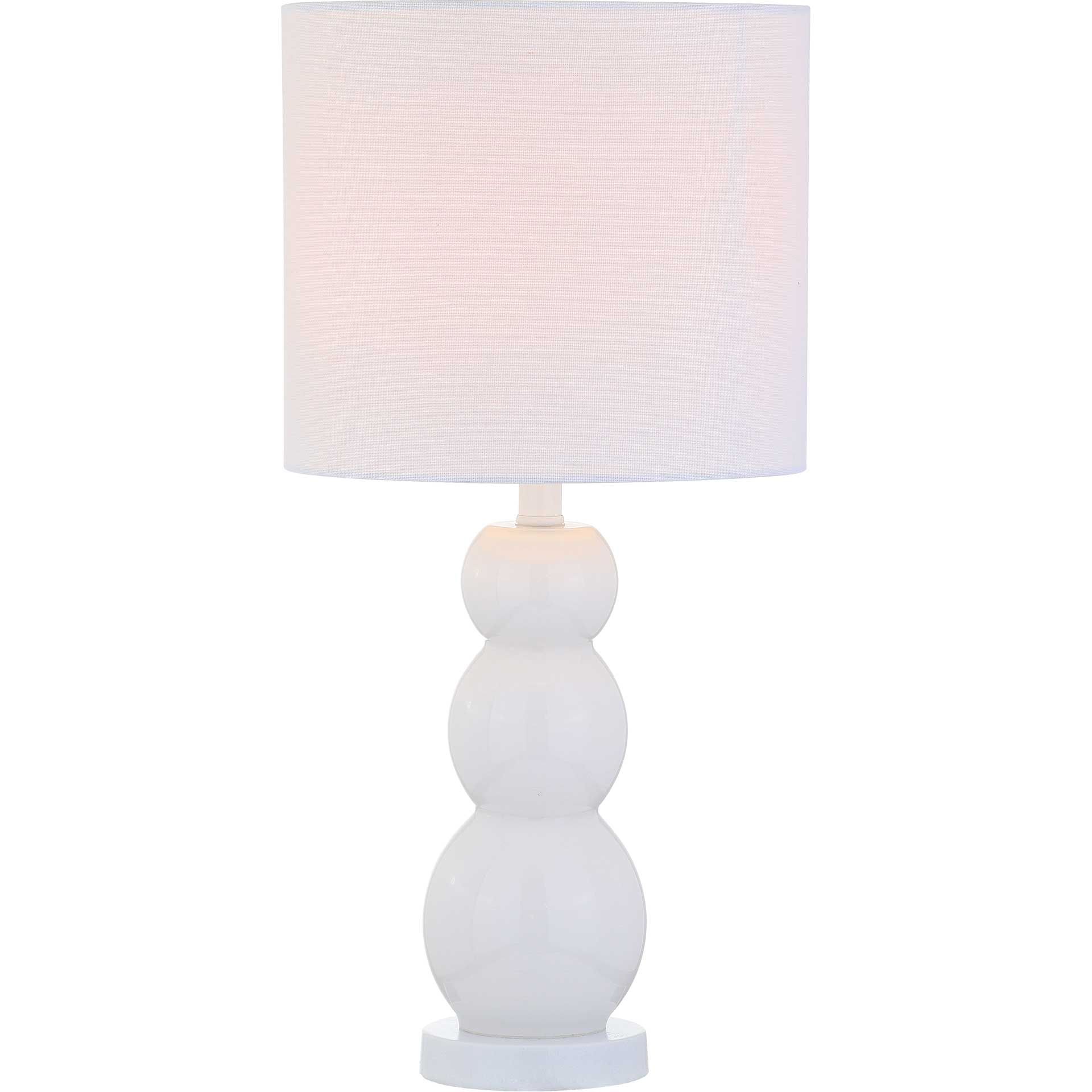Calibrate Table Lamp White
