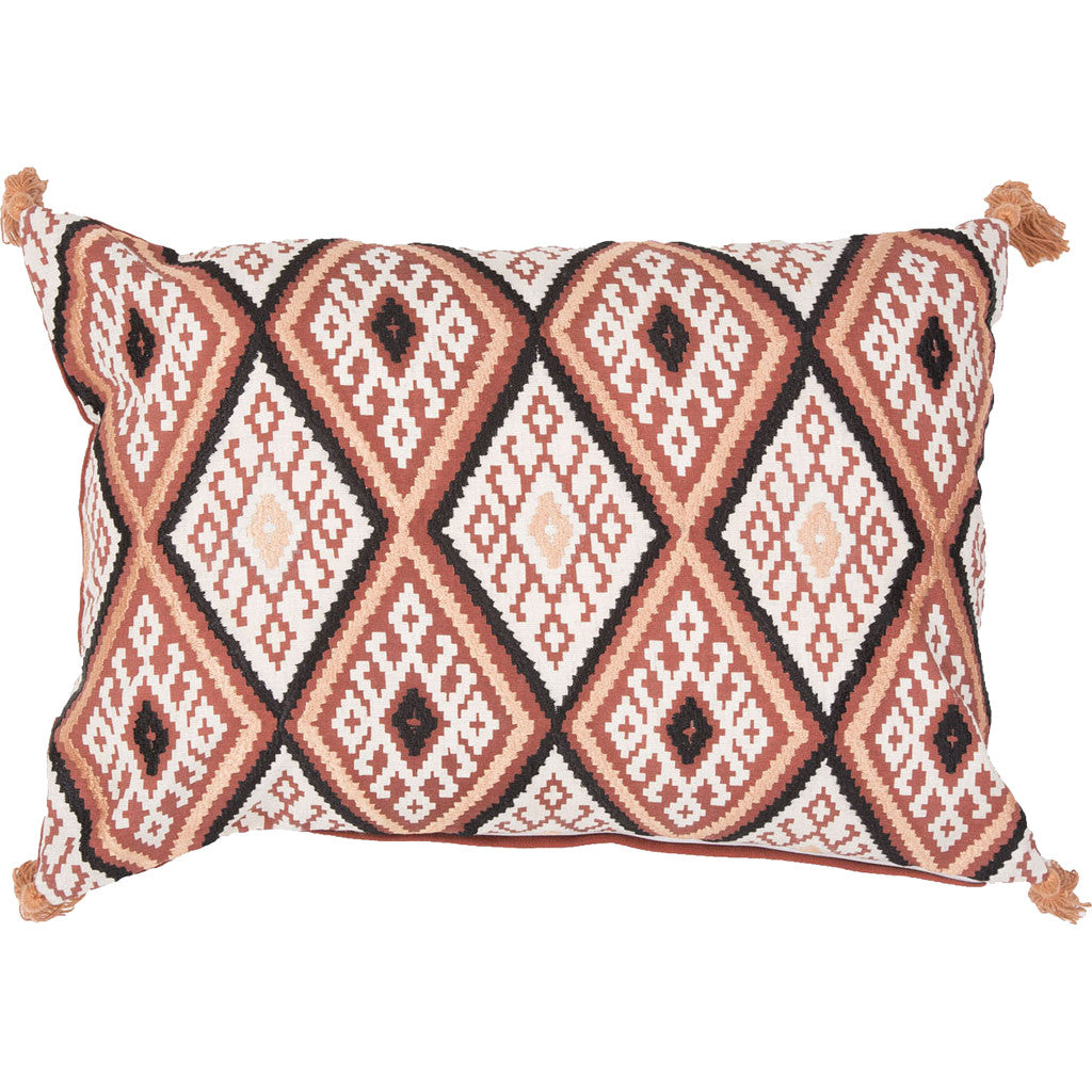 Traditions Max03 Red Ochre/Cement Pillow