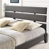 Zoar Queen Vinyl Bed Brown