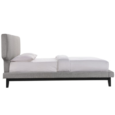 Broadway Queen Bed Gray