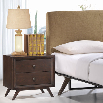 Thames Nightstand Cappuccino