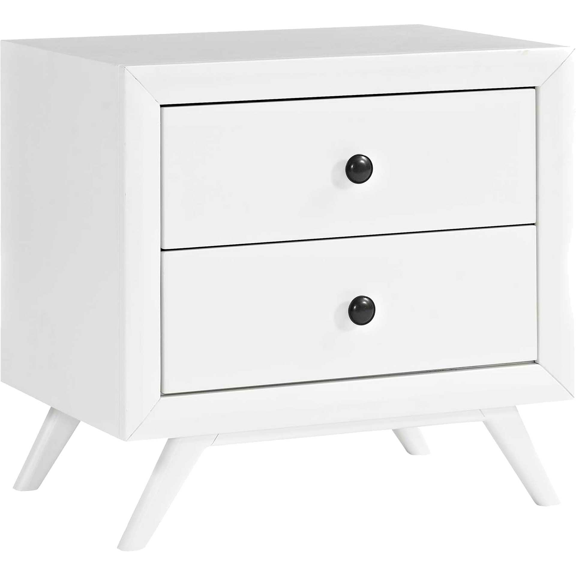 Thames Nightstand White