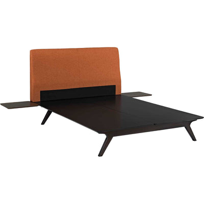 Thames Bed Orange With Side Tables