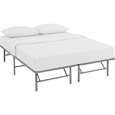 Henry Stainless Steel Bed Silver