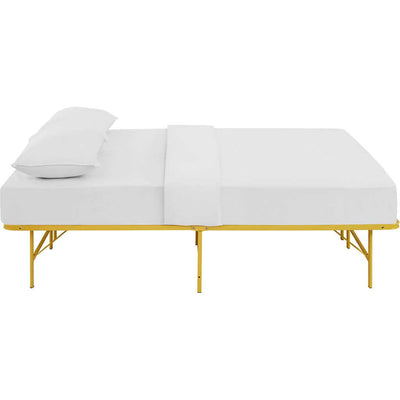 Henry Stainless Steel Bed Yellow