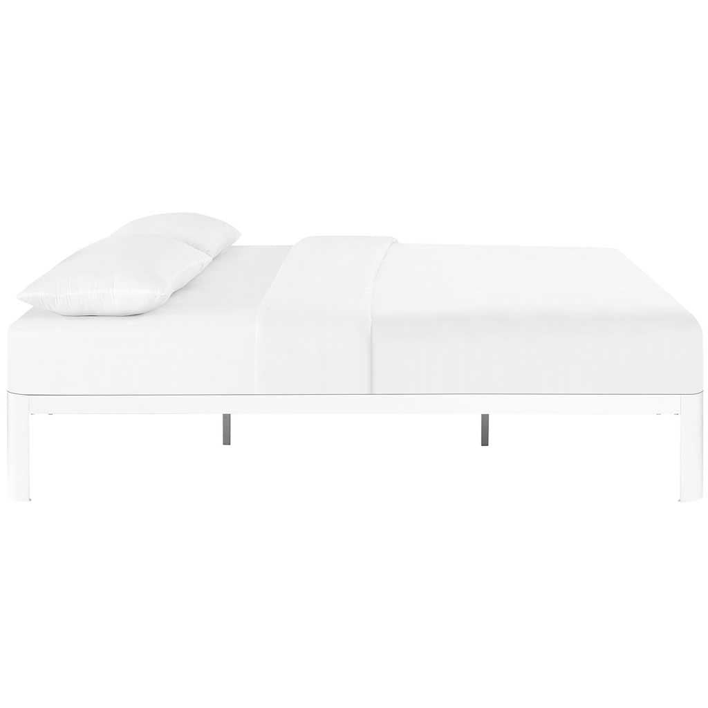 Clavell Bed White