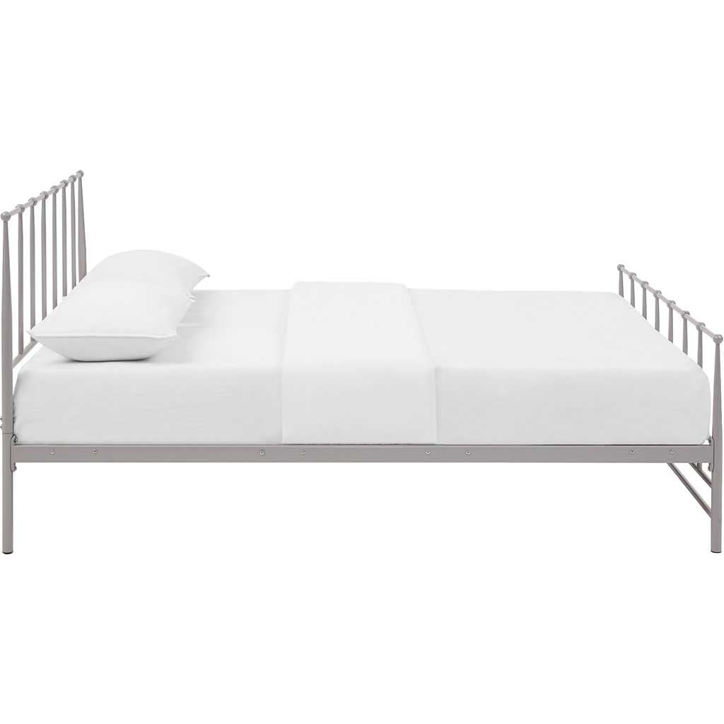 Edison Bed Gray