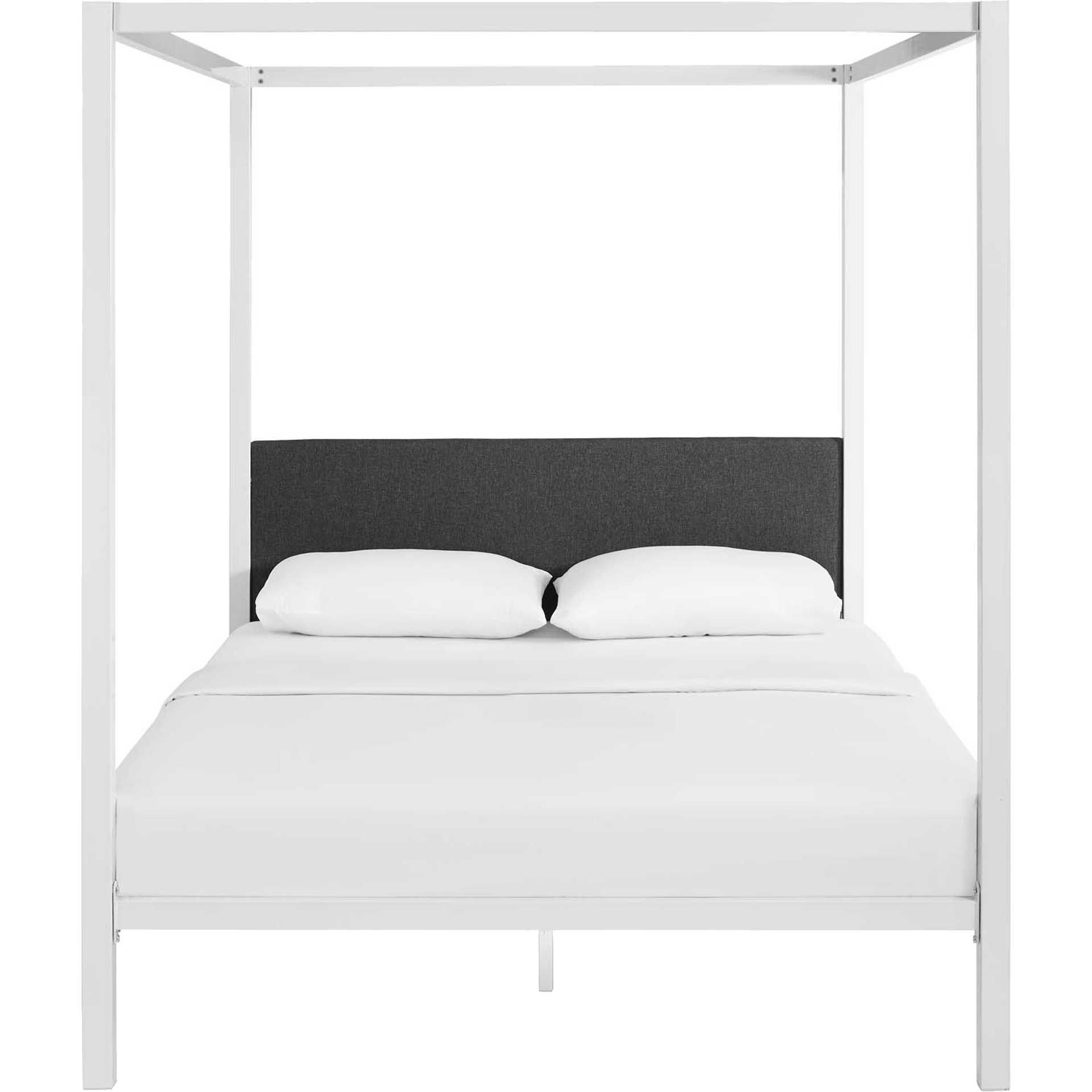 Richard Bed Frame White/Gray