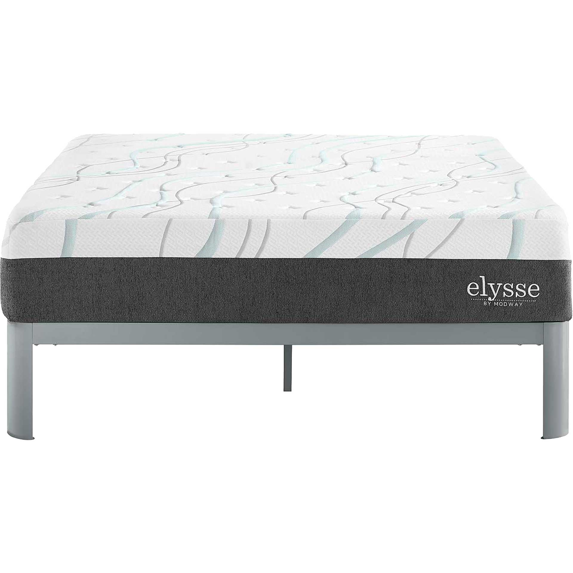 Elysse Gel Infused Hybrid Mattress White
