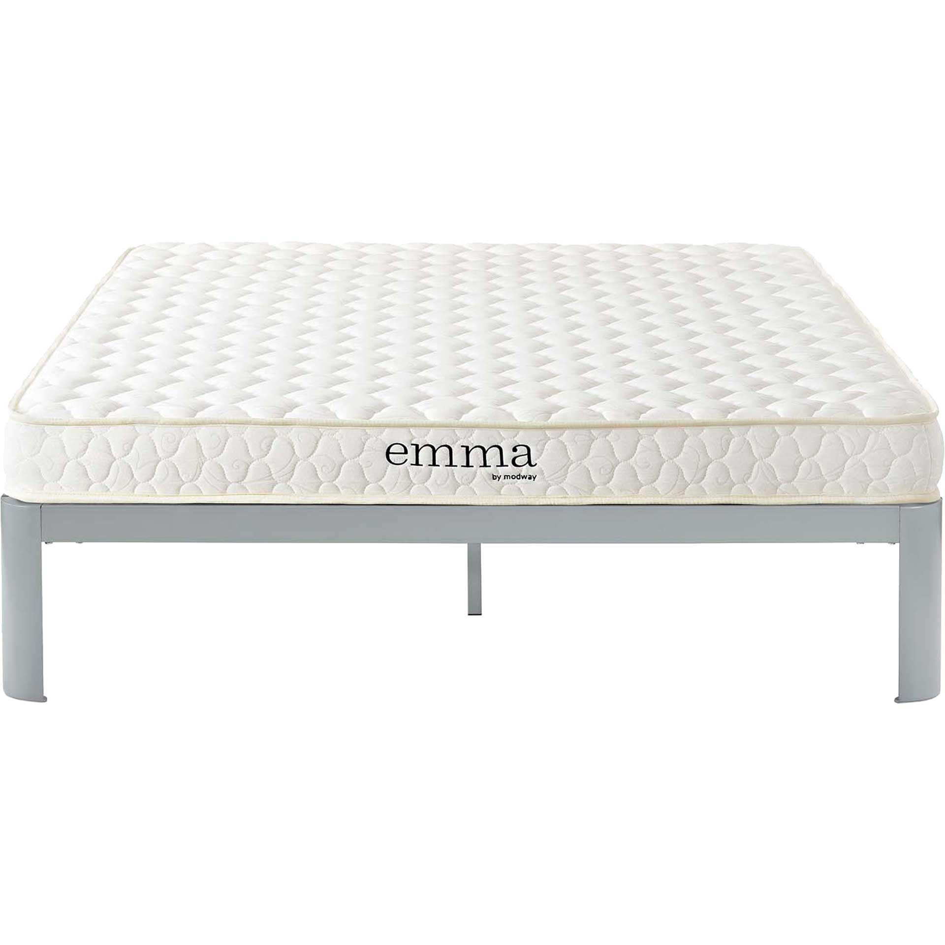 "Emma 6"" Memory Foam Mattress White"