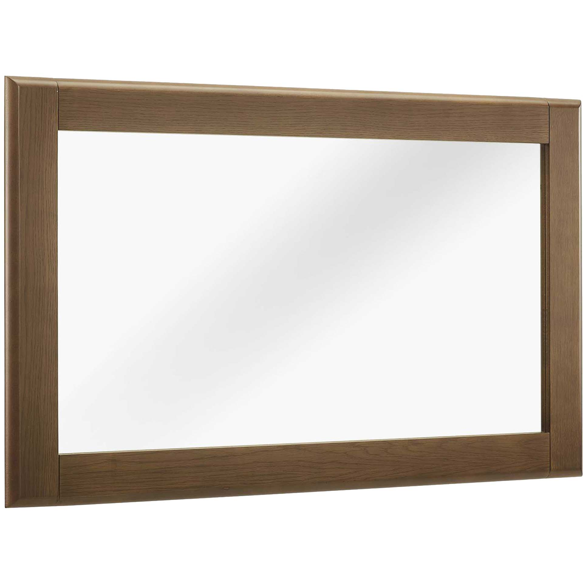 Trevor Wood Frame Mirror Chestnut