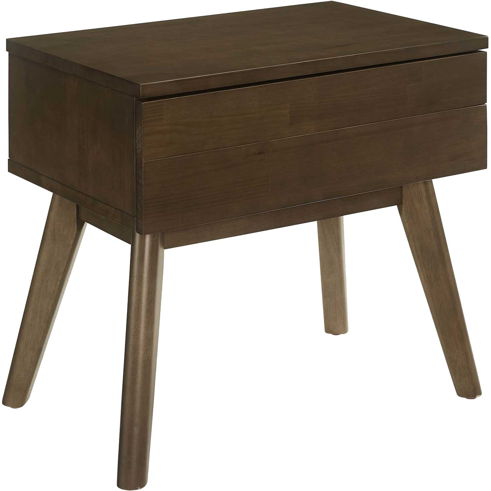 Elliot Wood Nightstand Walnut