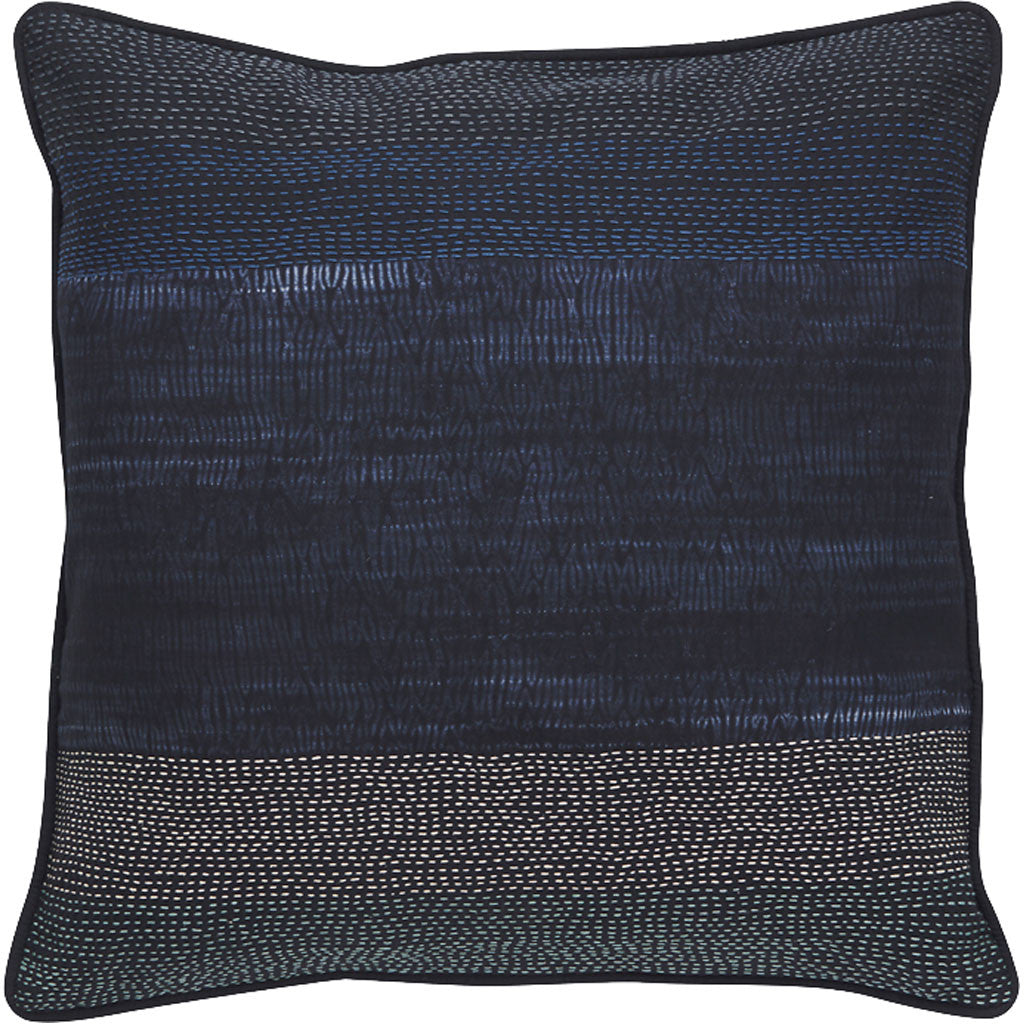 Montparnasse Blue Nights/Blue Indigo Pillow