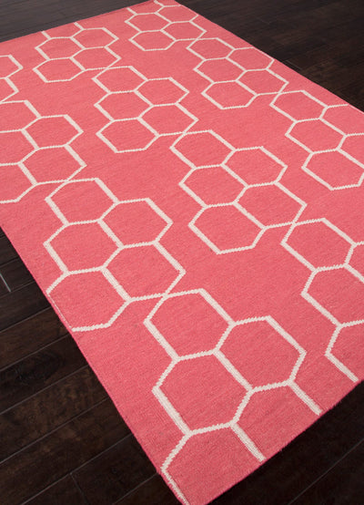 Maroc Abdel Tea Rose/White Area Rug