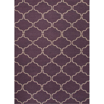 Maroc Delphine Continental Plum/Antique White Area Rug