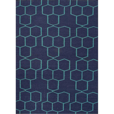 Maroc Abdel Deep Navy/Ceramic Area Rug