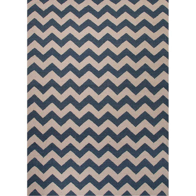 Maroc Lola Dark Denim/White Area Rug