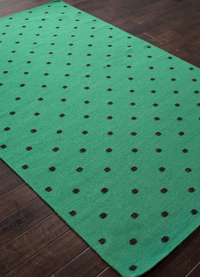 Maroc Myriam Emerald Green/Ebony Area Rug