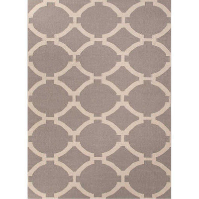 Maroc Rafi Medium Gray/Antique White Area Rug