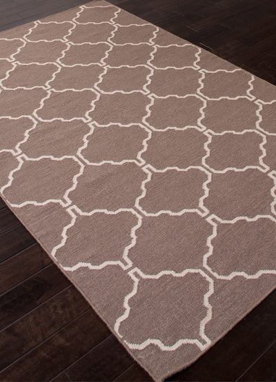 Maroc Delphine Dark Gray/Antique White Area Rug