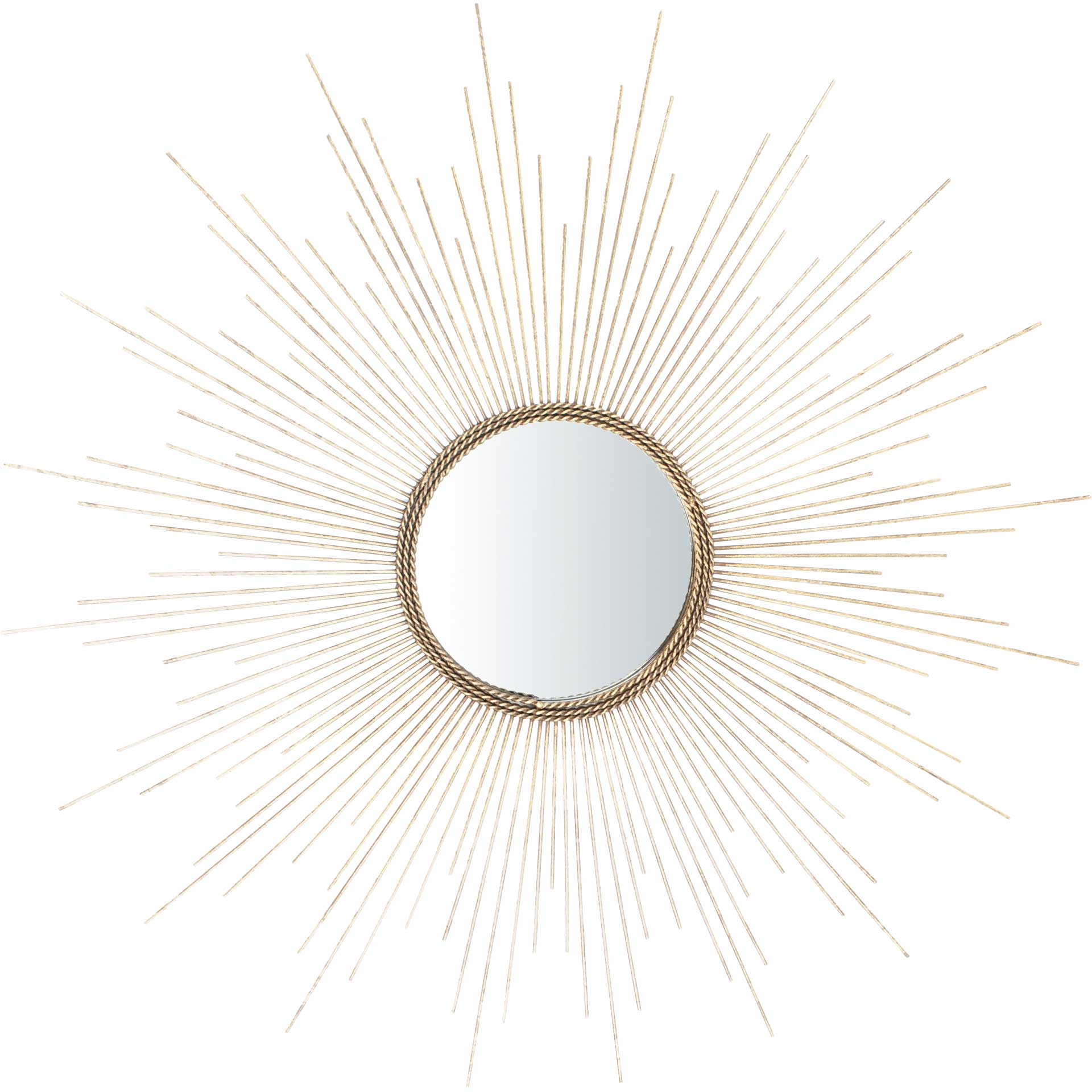Maverick Sunburst Mirror Goldleaf