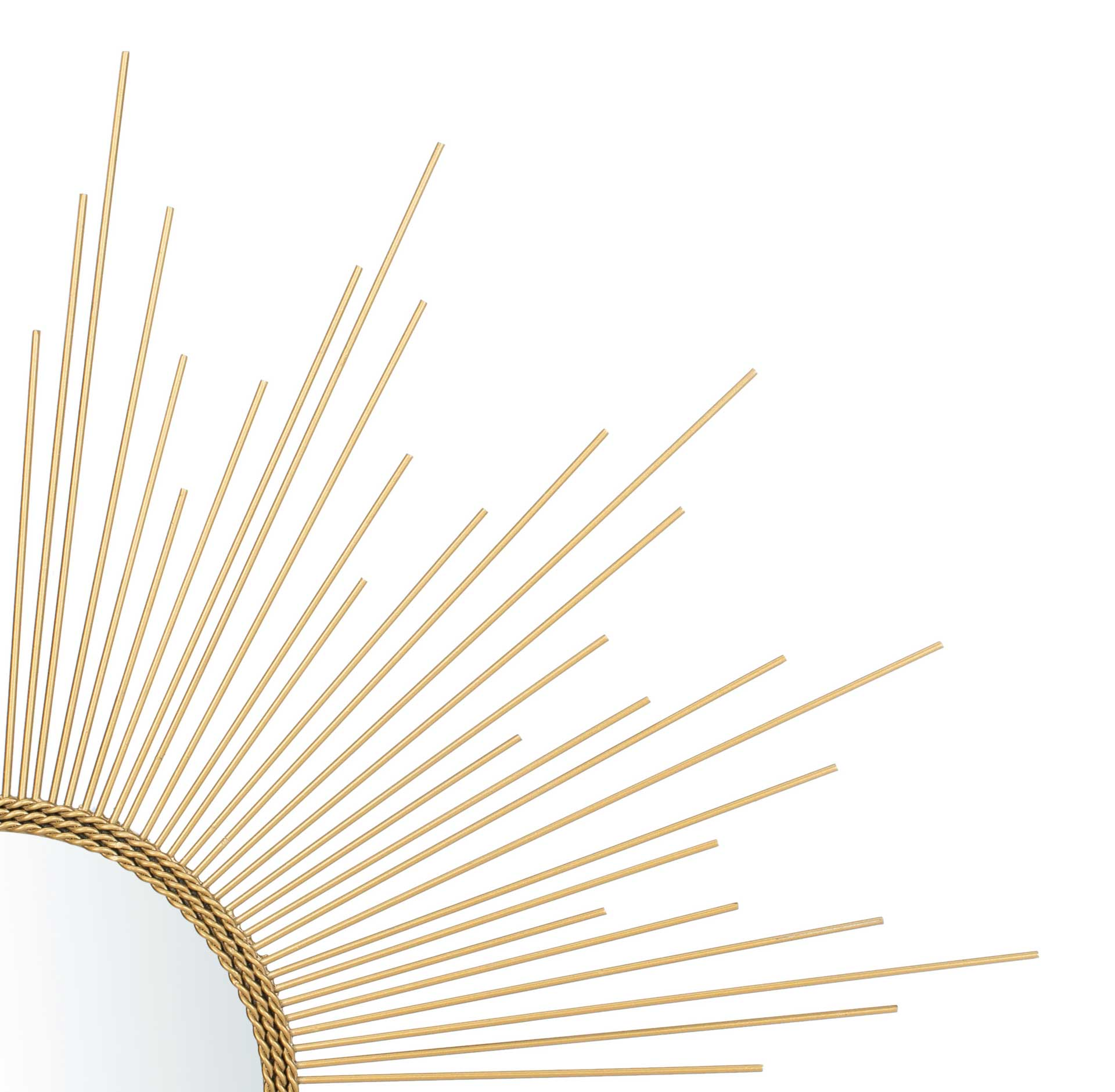 Lorelei Sunburst Mirror Gold