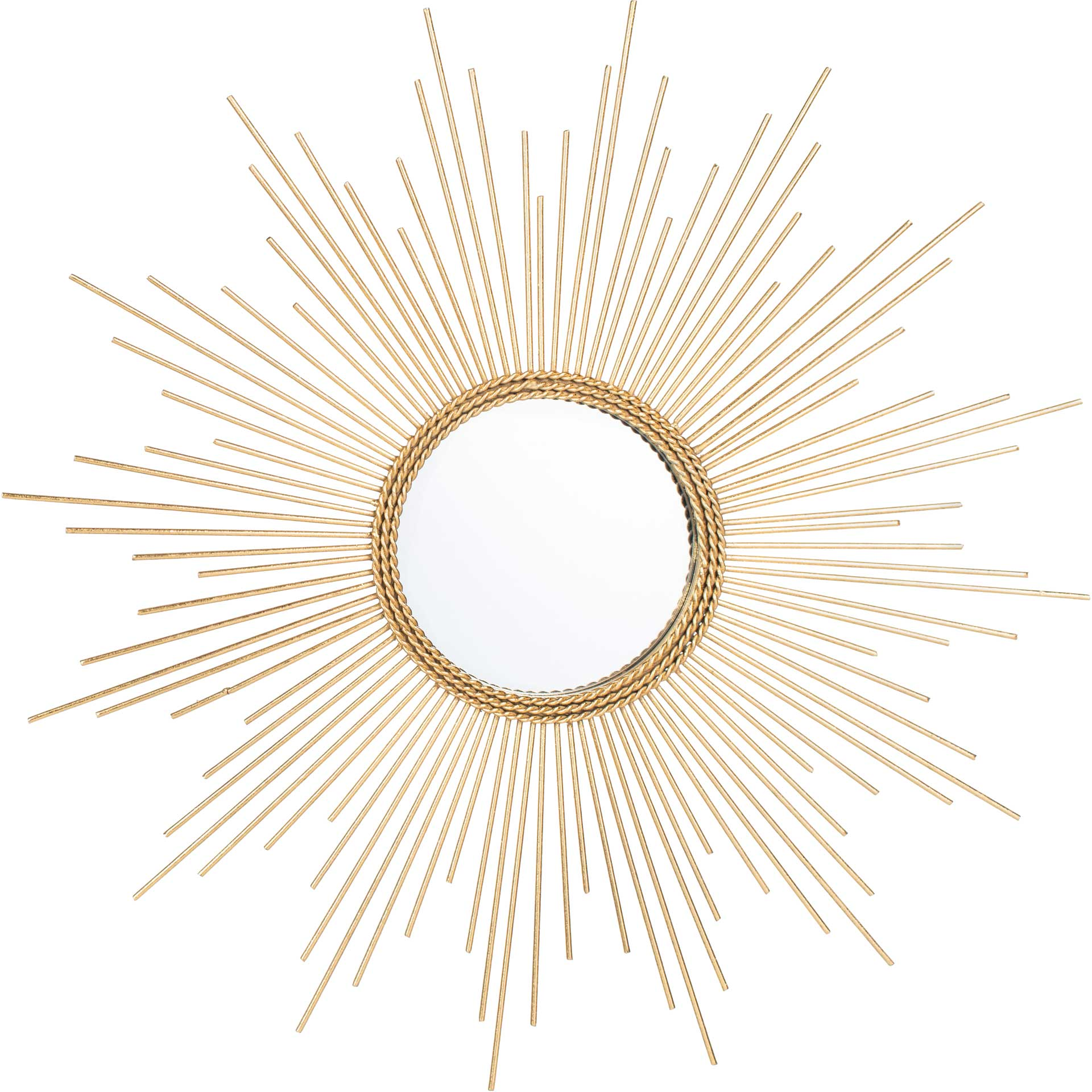 Nayeli Sunburst Mirror Gold Leaf