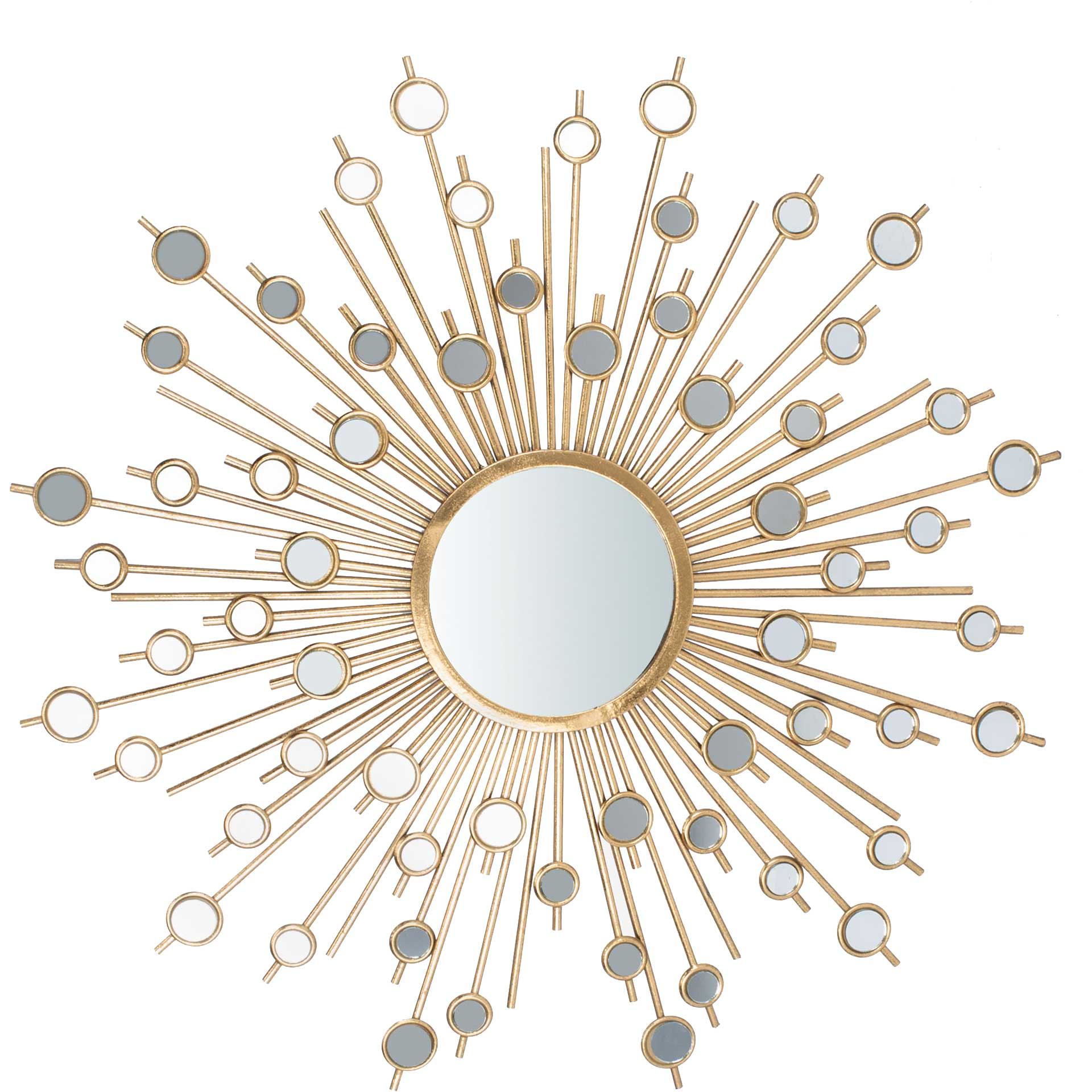 Niko Sunburst Mirror Gold