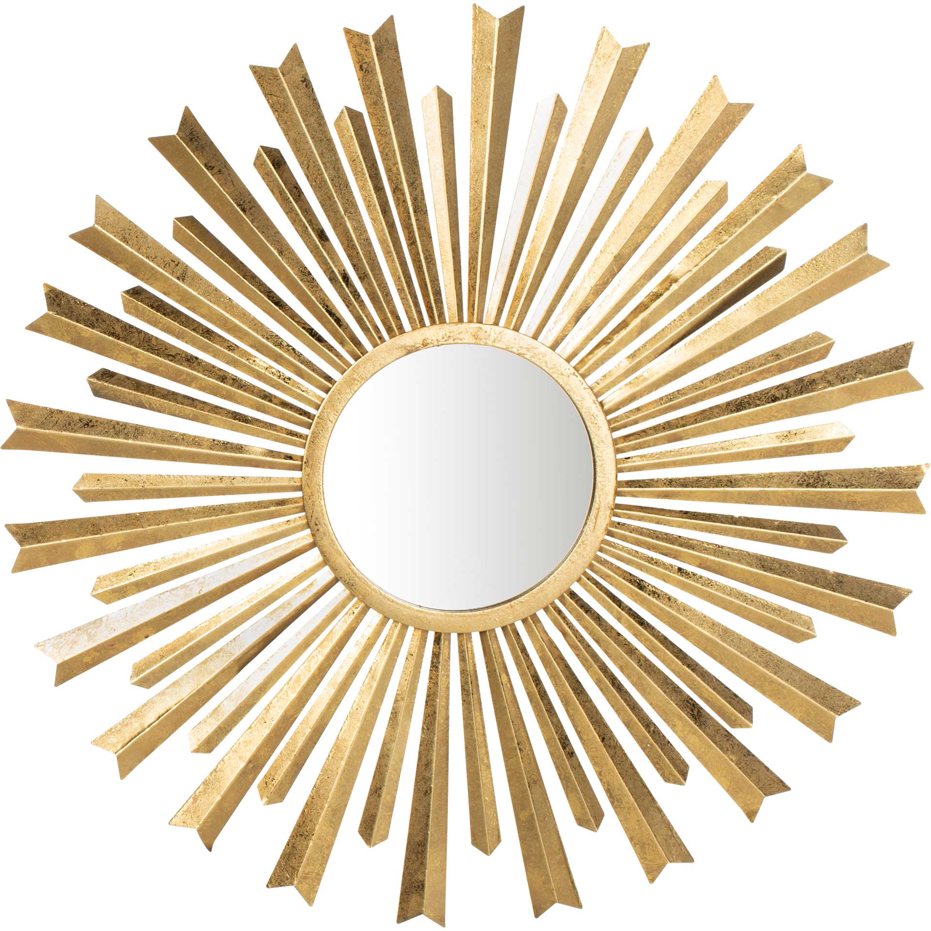 Hobbs Sunburst Mirror Gold