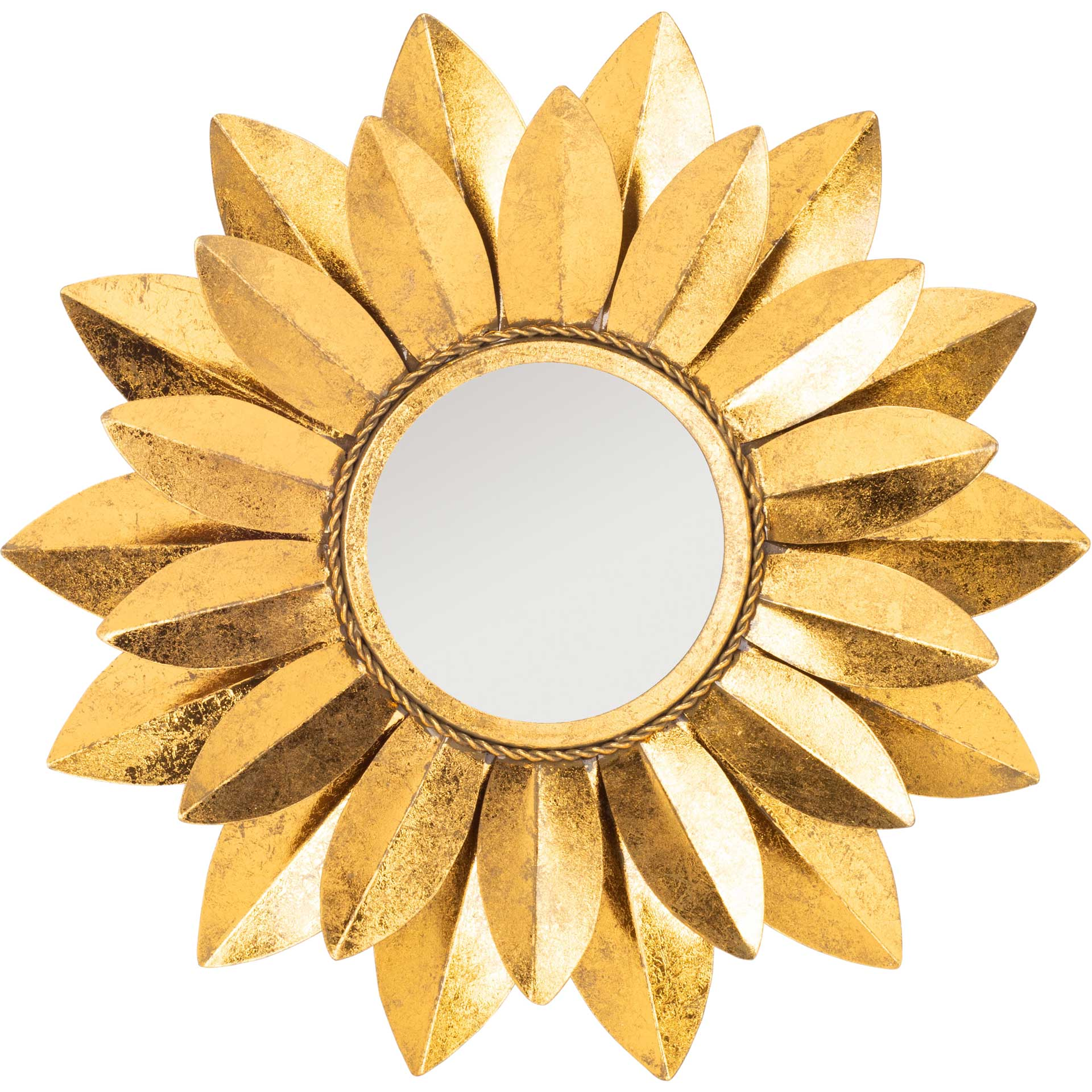 Larry Mirror Gold Foil