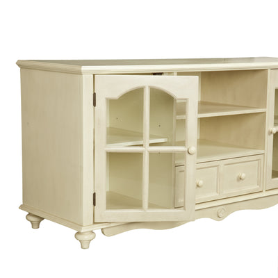 Covenant Media Stand Antique White