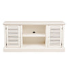 Arthur Media Stand Antique White